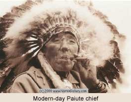 Modern Paiute chief