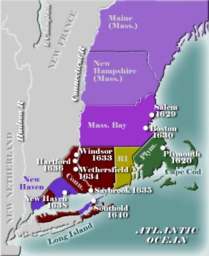 Early New England Map 2