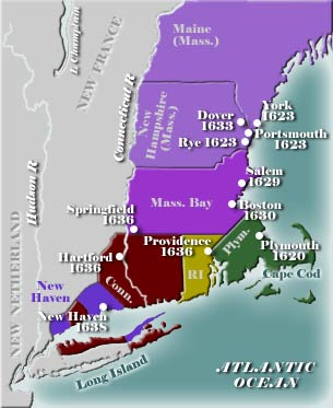 Early New England Map 4