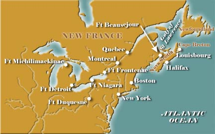 New France Map